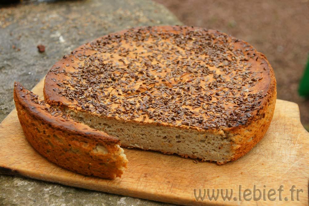 Une recette de pain sans gluten ecor novation du bief - Faire du pain sans gluten ...